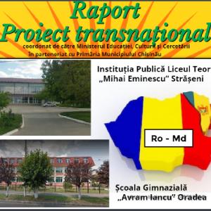"""Proiect transnațional """"Ursulețul de pluș"""""""